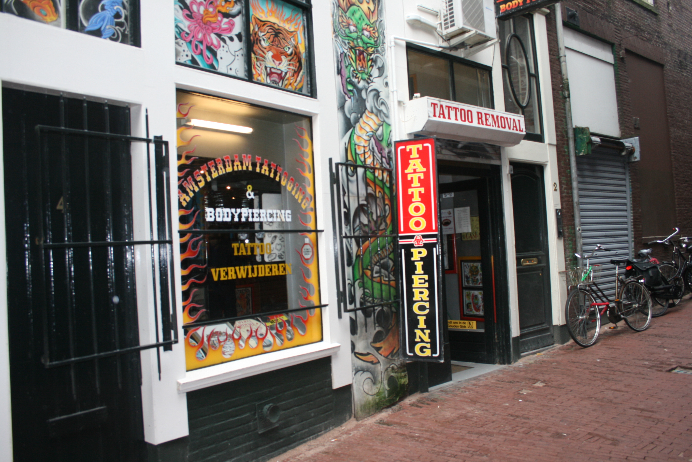 Amsterdam Tattooing Body Piercing